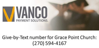 Give-by-Text number for Grace Point Church